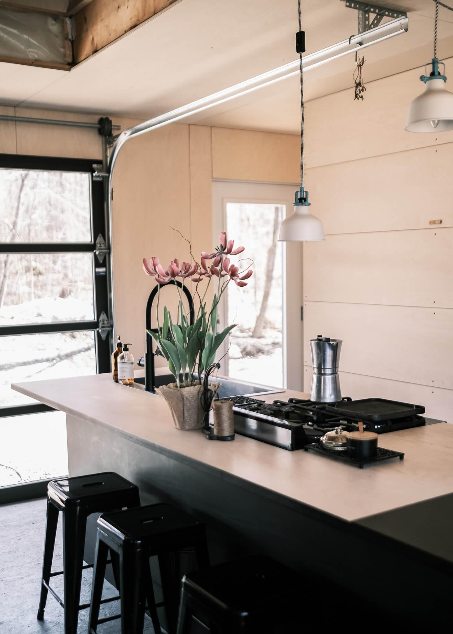 Cuisine - Maison off grid